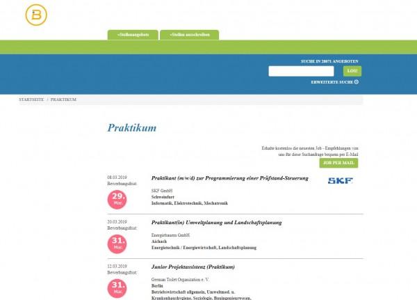 Uni Halle-Wittenberg - Berufsstart