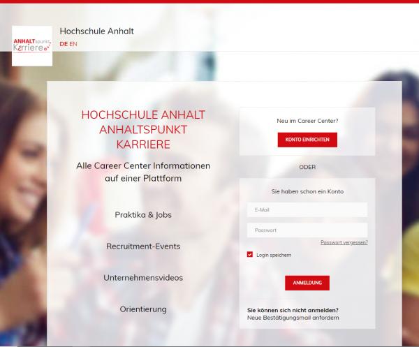 HS Anhalt (ANHALTspunkt.Karriere) - Studenten