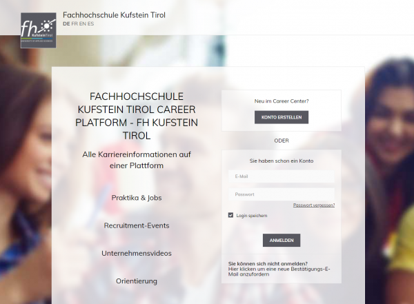 FH Kufstein (Alumni & Career Services)
