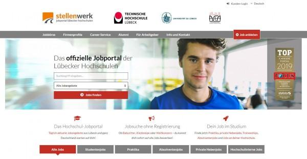 Uni und TH Lübeck - Stellenwerk