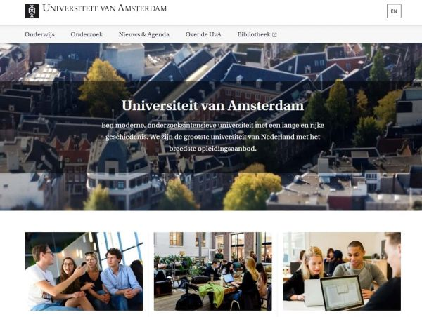 Uni Amsterdam - Career Service