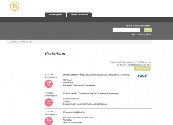 Uni Regensburg - Berufsstart