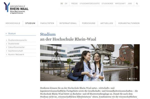 HS Rhein-Waal (Career Service) - Studenten