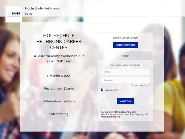 HS Heilbronn (Career Service) - Studenten