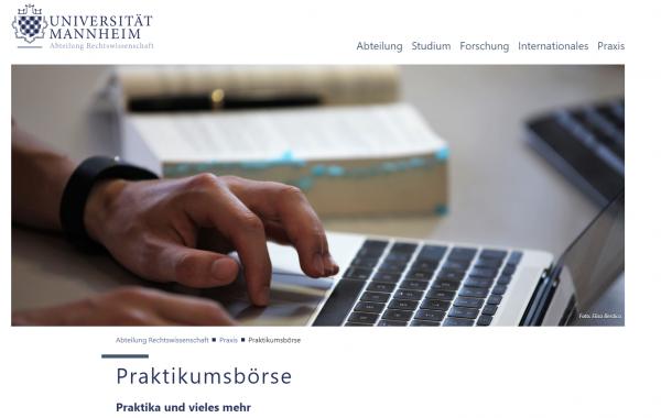 Uni Mannheim (Fachbereich Jura) (IQB) - Studenten
