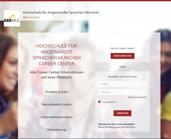 SDI München (Career Center) - Studenten