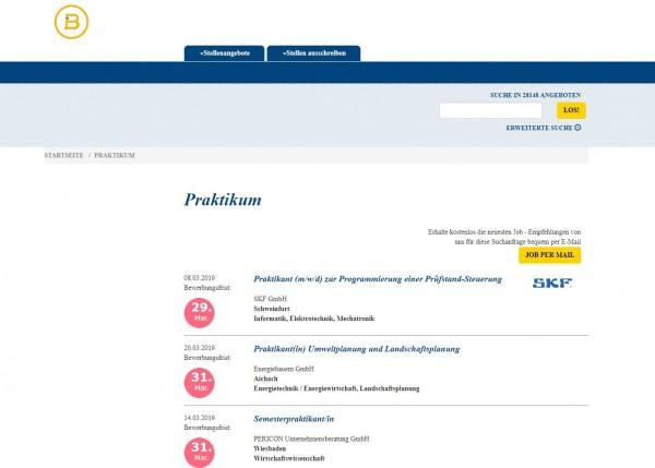 Uni Bamberg - Berufsstart