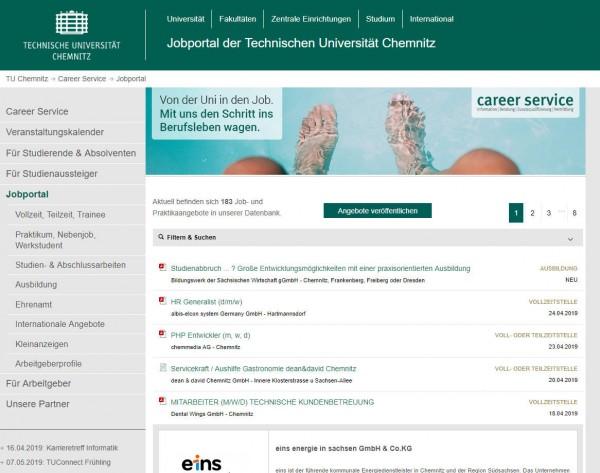 TU Chemnitz - Career Service