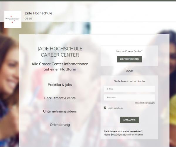 Jade Hochschule Wilhelmshaven (Career Service) - Praktikanten