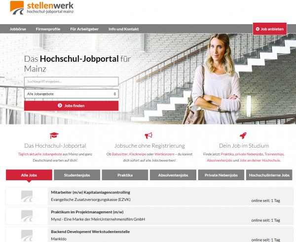 HS Mainz (Stellenwerk) - Studenten