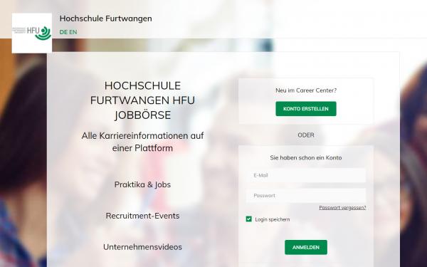 HS Furtwangen (Career Service) - Praktikanten