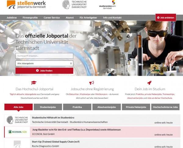 TU Darmstadt - Stellenwerk