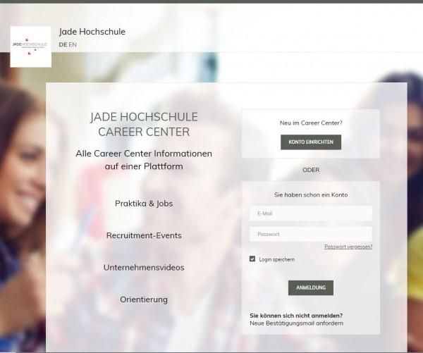 Jade HS Wilhelmshaven - Career Service