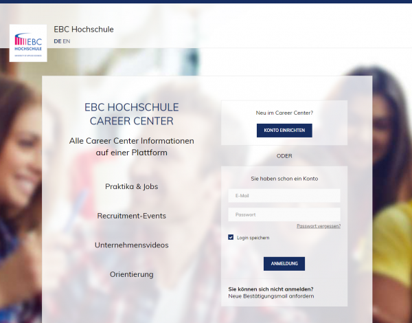 EBC Hochschule Berlin (Career Center) - Praktikanten
