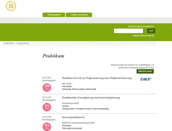 HS Kaiserslautern - Berufsstart