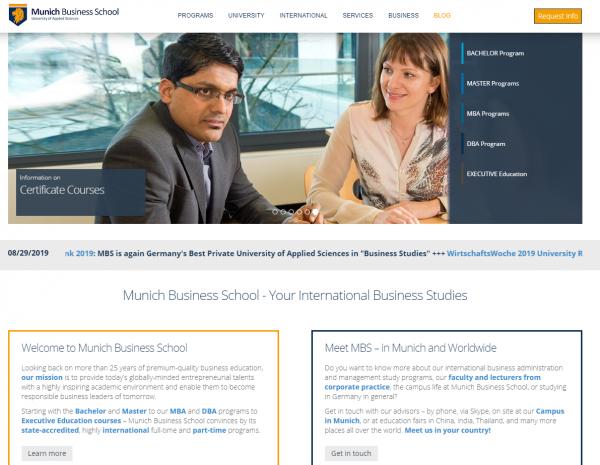 Munich Business School - Career Center