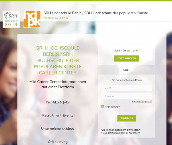 SRH Berlin - Career Service