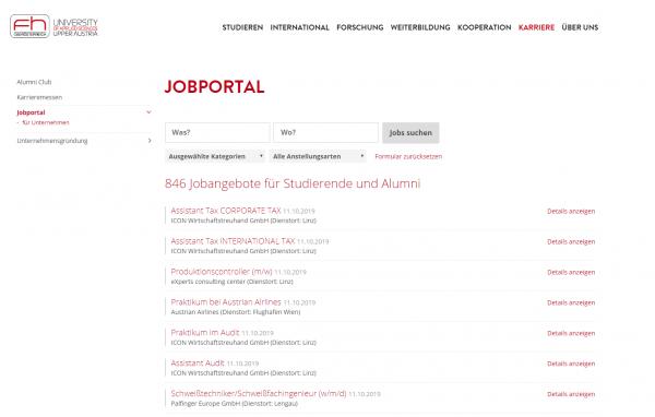 FH Oberösterreich (Jobs & Career)