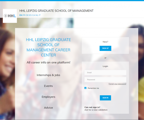 Handelshochschule Leipzig (Career Service) - Praktikanten
