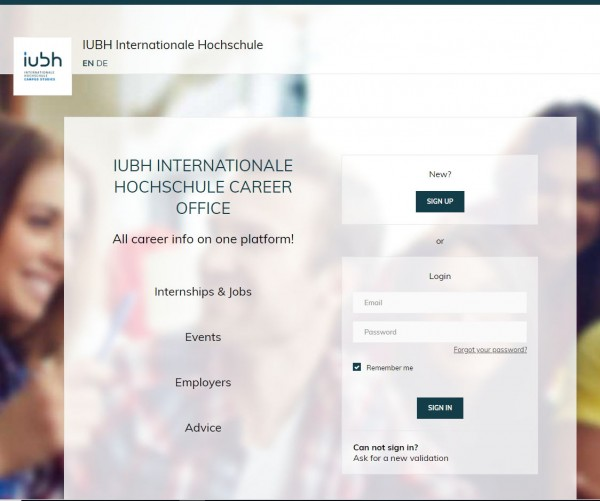 IUBH Bad Honnef - Career Office