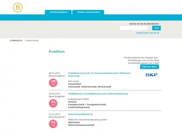 BTU Cottbus - Berufsstart
