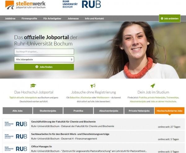 Uni Bochum - Stellenwerk