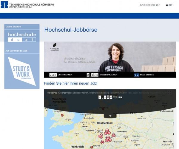 TH Nürnberg - Hochschul-Jobbörse