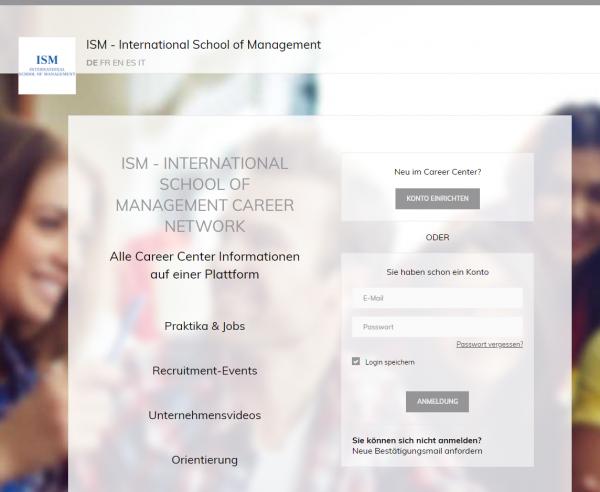 ISM Frankfurt (Career Center) - Praktikanten