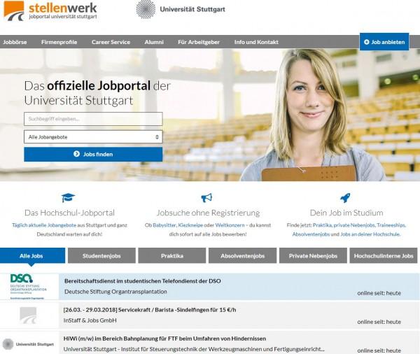 Uni Stuttgart - Stellenwerk