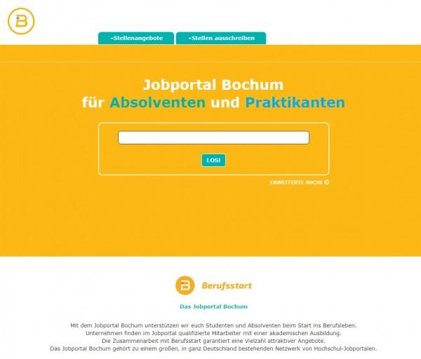 Uni Bochum - Berufsstart