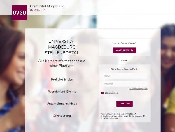 Uni Magdeburg (Career Service) - Praktikanten