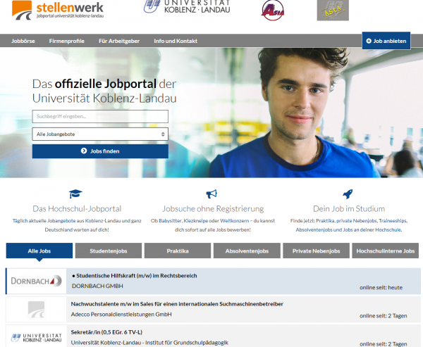 Uni Koblenz-Landau (Stellenwerk) - Studenten