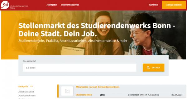 Studierendenwerk Bonn (DHW) - Studenten