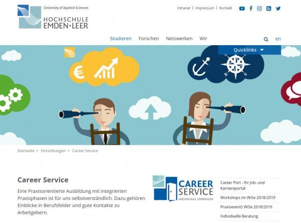 HS Emden/Leer - Career Service