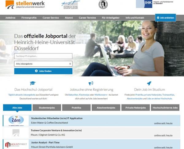 Uni Düsseldorf - Stellenwerk