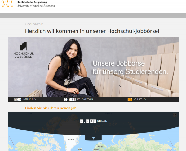 HS Augsburg (Hochschul-Jobbörse) - Studenten