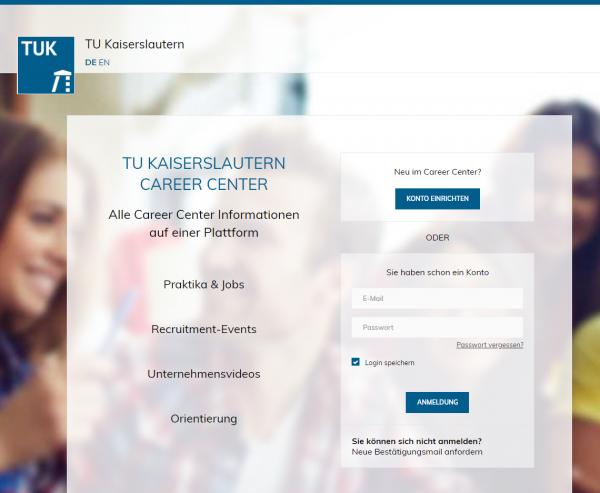 TU Kaiserslautern (Career Service) - Studenten