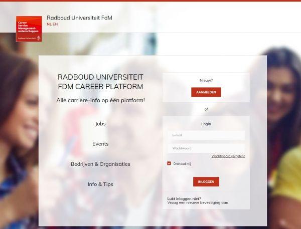 Uni Nimwegen (Fachbereich Wirtschaftswissenschaften) (Career Service)