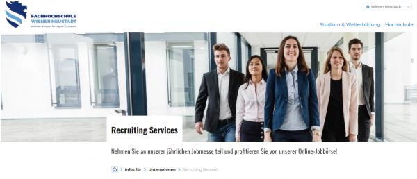 FH Neustadt Wien (Career Service) - Studenten