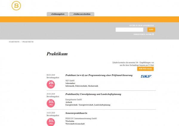 HS Pforzheim - Berufsstart