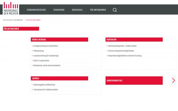 HDM Stuttgart (Career Center) - Studenten