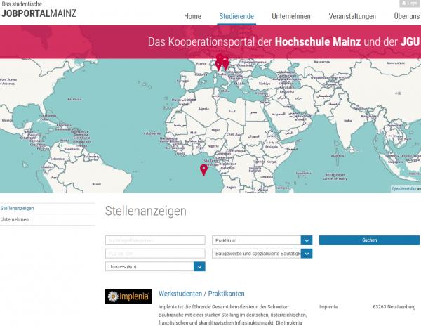FH Mainz (Career Service) - Studenten