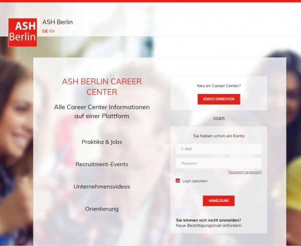 ASH Berlin - JOB&Beruf