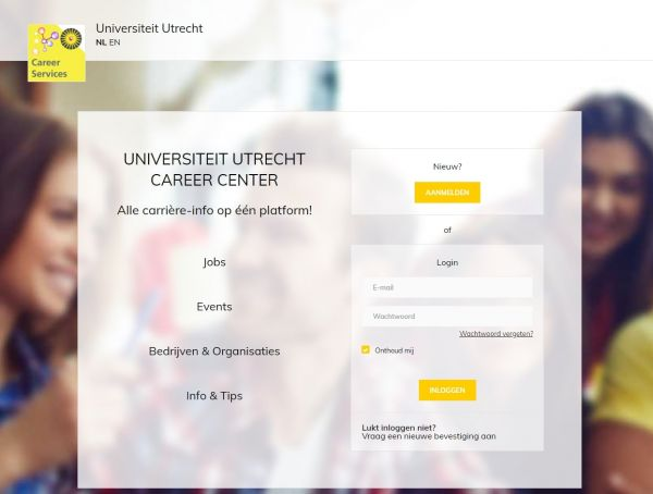 Uni Utrecht - Career Services