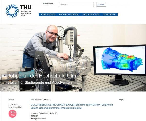 HS Ulm - Berufsstart
