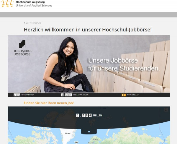 HS Augsburg - Hochschul-Jobbörse