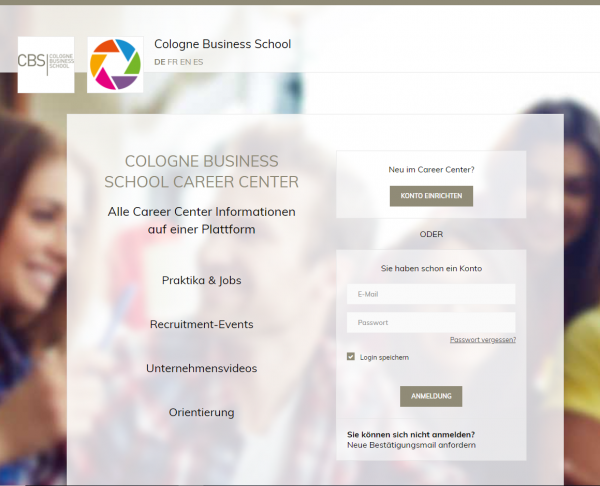 Cologne Business School (Career Service) - Praktikanten