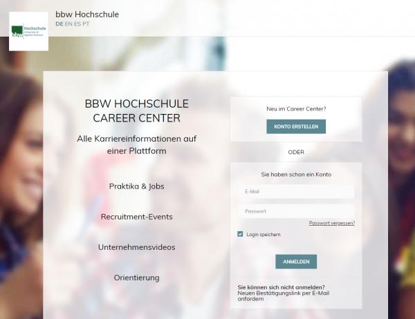 BBW Hochschule Berlin - Career Service