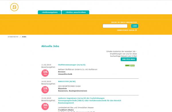 TU Braunschweig (ausgewählte Fachbereiche) - Studenten