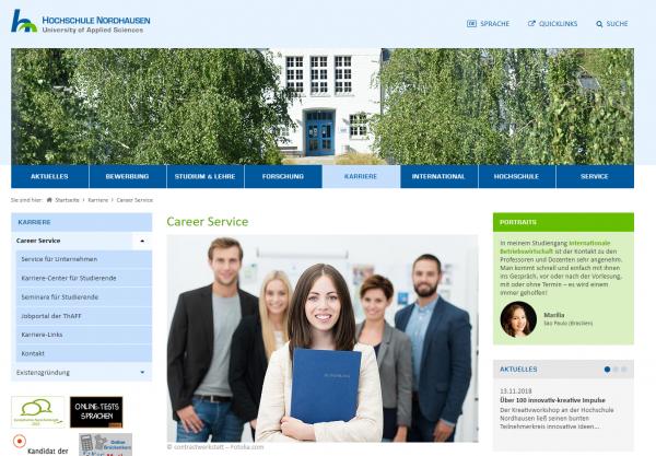 Hochschule Nordhausen (Career Service) - Praktikanten